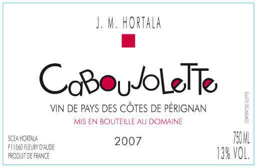 Domaine Hortala Coteaux du Languedoc La Clape Tradition